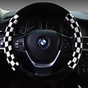 voordelige Bluetooth autokit/handsfree-Auto-stuurhoezen Pluche 38cm Bruin / Wit / Rood Voor Universeel