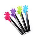 abordables Juegos de Mesa-pinzas de estilo de palma de silicona hornear utensilios de cocina servir pinzas de hielo
