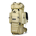 cheap Softshell, Fleece & Hiking Jackets-LOCAL LION 75 L Hiking Backpack - Waterproof Outdoor Camping / Hiking, Traveling Nylon White, Black, Digital Jungle