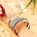 preiswerte Schmuckset-Damen Schmuckset Armreife - Retro Armbänder Silber Für Alltag Normal