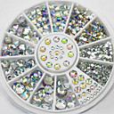 cheap Nail Jewelry-280 pcs Rhinestones / Nail Jewelry Classic / Sparkle & Shine Easy to Use Party Evening / Daily Nail Art Design