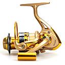 رخيصةأون بكرات الصيد-بكرة ذو محورين 5.5:1 نسبة أعداد التروس والاسنان+12 الكرة كراسى توجيه اليد قابلة تغيير الصيد البحري / طعم الاسماك / صيد الأسماك في المياه العذبة - Baitcast Reels