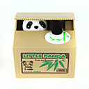 cheap Science & Exploration Sets-Itazura Coin Bank / Money Bank Piggy Bank / Money Bank Stealing Coin Bank Saving Money Box Case Piggy Bank Toys Cute Electric Square Panda