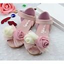 preiswerte Mädchenschuhe-Mädchen Schuhe Kunstleder Sommer Komfort Sandalen für Weiß / Rosa