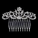 hesapli Parti Başlıkları-İnci / Kristal / Yapay Elmas  -  Saç Combs 1 Düğün / Özel Anlar / Günlük Başlık