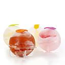 halpa Kakkumuotit-4kpl / set muovi jääpala pallo tiili maker tarjotin pyöreä muotti jää hometta baarissa DIY jäähdytys työkalut kuuma haku