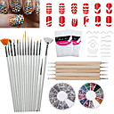 cheap Nail Stickers-30pcs Nail Treatment Scissors nail art Manicure Pedicure Stainless Steel Classic Daily / Scissors & Clippers