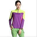baratos Almofadas de Decoração-Mulheres Camiseta de Trilha Secagem Rápida Resistente Raios Ultravioleta Respirável Camisa + Shorts Blusas para Exercício e Atividade