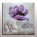 cheap Floral/Botanical Paintings-Mintura® Hand Painted Flowers Oil Painting On Canvas Wall Art Picture For Home Decor With Stretched Frame Ready To Hang