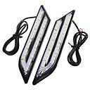 abordables Lámparas LED de Coche-exLED 2pcs Coche Bombillas 24W SMD 5630 500lm 66 LED Luz de Circulación Diurna
