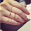 cheap Rings-Women's Knuckle Ring - Alloy Personalized, Simple Style, Fashion One Size Silver / Golden For Party Daily Casual / 5pcs