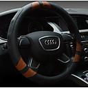 baratos Purificadores de Ar para carros-Capas para Volante couro legítimo 38cm Bege / Cinzento / Café For Universal