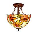ราคาถูก ไฟเพดาน-Flush Mount Ambient Light - LED นักออกแบบ, Tiffany, 110-120โวลล์ 220-240โวลต์ ไม่รวมหลอดไฟ