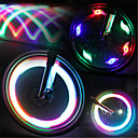 abordables Luces y Reflectores para Bicicleta-Luces para bicicleta / Luces Tiltilantes para Tapas de Válvulas / luces de la rueda LED Luces para bicicleta Ciclismo Impermeable, Luz LED, Modos múltiples Batería Ciclismo / IPX-4