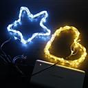 billige LED-stringlys-usb 5m streng lys 50 leds led vanntett lampe christmas bryllup nyttår