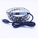preiswerte USB Speicherkarten-0.5m führte Schnur beleuchtet 60led Feiertagsdekorationslampenfestival-Weihnachtsbeleuchtung im Freien flexibles Auto geführte helle Streifen