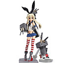 billige Putevar-Anime Action Figurer Inspirert av Kantai Collection Shimakaze 15 cm CM Modell Leker Dukke Dame