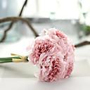 preiswerte Kunstblume-Künstliche Blumen 1 Ast Pastoralen Stil Pfingstrosen Tisch-Blumen