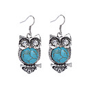 cheap Hair Jewelry-Women's Turquoise - Silver Plated, Imitation Diamond Owl Vintage, Bohemian Blue For Party / Daily / Casual