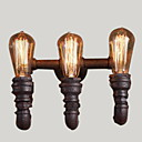 cheap Rings-Rustic / Lodge Wall Lamps & Sconces Metal Wall Light 110-120V / 220-240V 40W