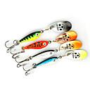 お買い得  ルアー/フライ-4 pcs ルアー スプーン メタル シンキング 海釣り ベイトキャスティング スピニング / ジギング / 川釣り / バス釣り / ルアー釣り / 一般的な釣り