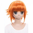 cheap Hair Accessories-the new wig the idol dream star aung flow orange against become warped hair 8 inch cosplay wig Halloween