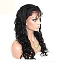 cheap One Pack Hair-Human Hair Unprocessed Human Hair Glueless Full Lace Full Lace Wig Brazilian Hair Body Wave Loose Wave Wig 120% Density with Baby Hair Natural Hairline African American Wig 100% Hand Tied Women's