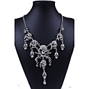 cheap Religious Jewelry-Women's Statement Necklace - Imitation Diamond Skull Statement, Personalized, Luxury Silver, Golden Necklace For Party, Daily, Work