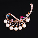 cheap Pins and Brooches-Women's Brooches - Stylish, Fashion Brooch Rose Pink For Wedding / Dailywear
