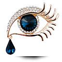 billige Kvinders Brocher-Dame Brocher Mode Personaliseret kostume smykker Krystal Smykker Til Fest Daglig Afslappet