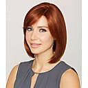 abordables Pelucas Sintéticas de Malla-Pelucas sintéticas Recto Pelo sintético Rojo Peluca Mujer Corta