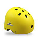 preiswerte Modische Halsketten-KUYOU Skateboardhelm Erwachsene Helm ASTM Bestätigung Sport Jugend für Radsport / Fahhrad Skateboarding Inline-Skates Schwarz Orange Gelb