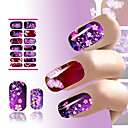 cheap Full Nail Stickers-1 pcs Flower / Fashion Water Transfer Sticker Daily