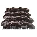 billige Syntetiske parykker uten hette-Ekte hår Remyfletninger av menneskehår Krop Bølge Brasiliansk hår 400 g 6 måneder