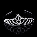 cheap Party Headpieces-Brass Tiaras / Headwear with Floral 1pc Wedding / Special Occasion Headpiece