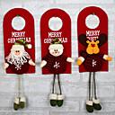abordables Zapatos de Baile Latino-el diseño es al azar árbol de navidad decoración adornos xmas hogar puerta decoración santa claus muñeco de nieve renos