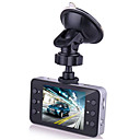 billige Head-Up Displays-HD Bil DVR 140 grader Vidvinkel 12 MP 2.7 inch Dash Cam med Biloptager