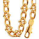 cheap Necklaces-Jewelry Set - Fashion Include Necklace / Bracelet Gold For Wedding Party Daily