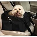 abordables Básicos de Viaje para Perros-Gato Perro Transportines y Mochilas de Viaje Cobertor de Asiento Para Coche Mascotas Portadores Portátil Plegable Un Color Negro Verde