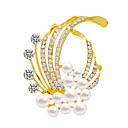 preiswerte Modische Uhren-Damen Broschen - Personalisiert, Stilvoll, Modisch Brosche Silber / Golden / Mattschwarz Für Alltagskleidung / Alltag