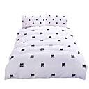 preiswerte Geometrische Duvet Covers-Bettbezug-Sets Neuheit 3 Stück Polyester / Baumwolle Reaktivdruck Polyester / Baumwolle 3-teilig (1 Bettbezug, 2 Kissenbezüge)