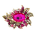 cheap Eyeshadows-Women's Brooches - Fashion Brooch Golden / Gold / Blue / Gold / Pink For Party / Daily