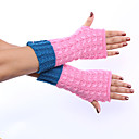 cheap Car Fog Lights-Women's Cute Party Work Fingerless Gloves - Color Block