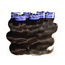 cheap Unprocessed Hair-Peruvian Hair Body Wave Virgin Human Hair Natural Color Hair Weaves / Hair Bulk Human Hair Weaves Human Hair Extensions