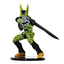 billige Anime actionfigurer-Anime Action Figurer Inspirert av Dragon Ball Celle PVC 17cm CM Modell Leker Dukke
