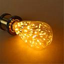 billige LED lyspærer-1pc 3 W 200 lm E26 / E27 LED-globepærer ST64 54 LED Perler DIP LED Dekorativ Varm hvid 220-240 V / 1 stk. / RoHs