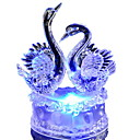 baratos Novidades em Iluminação-Colorido romântico cisne led night light lovely led cisne night lamp ideal para festa de casamento presente para as crianças amigo