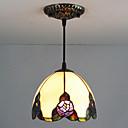 ราคาถูก ไฟเพดาน-25W ไฟจี้ ,  แบบดั้งเดิม / คลาสสิก / Tiffany การทาสี ลักษณะ for Mini Style โลหะ ห้องนอน / การเข้า