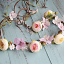 cheap Body Jewelry-Basketwork / Fabric Headwear / Wreaths with Floral 1pc Wedding / Special Occasion / Outdoor Headpiece