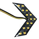 hesapli Car Exterior Lights-2pcs Araba Ampul SMD 5630 LED Stop lambası / Dekoratif Lamba / Fren Işığı